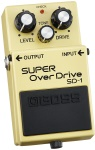 Effects Pedal Boss Super Overdrive