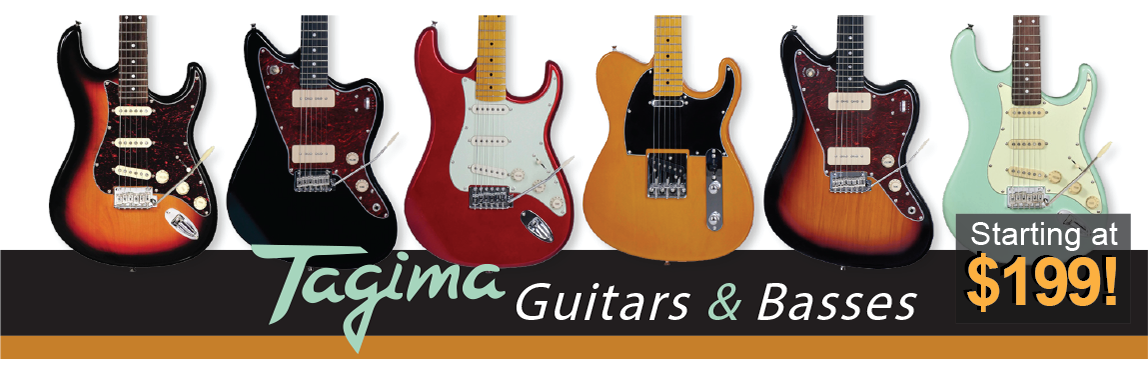 Tagima Electric Guitars