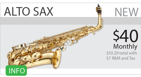 Alto Sax Rent To Own