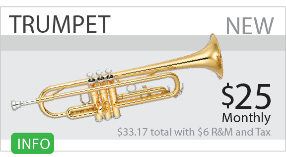 Rent to own trumpets