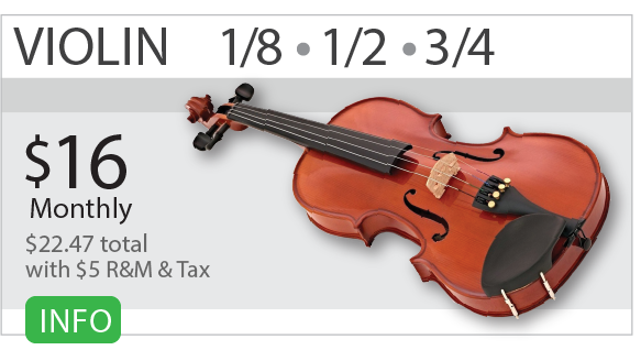 Violin Rent To Own