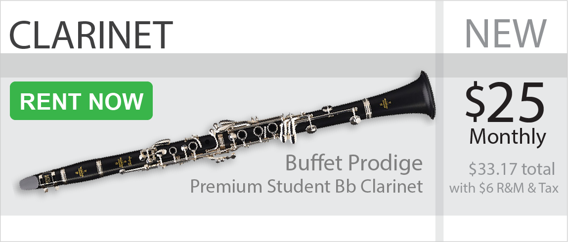 Clarinet Rent to own