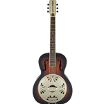 Resonator Gretsch Electric Alligator Mahogany Round Neck Sunburst