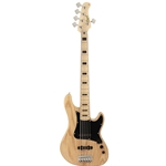 Cort GB55JJ 5 String Bass Natural