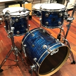 DW Maple Collectors 4pc Deep Blue Oyster - Used