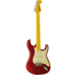 Tagima Tg540E Woodstock Strat Style Met Red