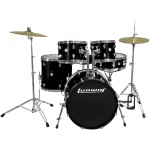 Ludwig Accent 20 Black Drum Set