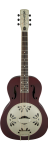 Resonator Gretsch Honeydripper Round Neck Oxblood