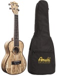 Uk Amahi Concert Spalted Maple