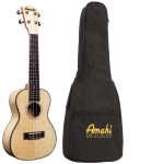 Ukulele Amahi Concert Flame Maple