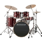 Ludwig Element 22 Red Drum Set