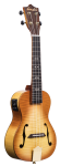 Ukulele Amahi Concert Tiger Flame Maple