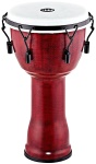 "Djembe Meinl 10"" Frontier Mechanical Molten Rust"