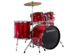 Drum Set Ludwig Accent 20 Red Foil