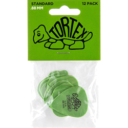 Picks 12pk Dunlop Tortex Std .88mm
