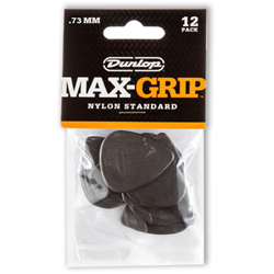 Picks 12pk Dunlop Max Grip .73mm