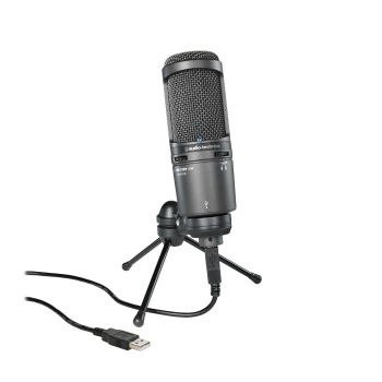 Mic Audio Technica AT-2020USB+  USB w/ Phone Out & Volume
