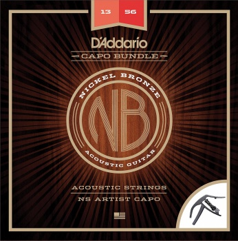 Strings Acoustic Gtr D'Addario Nickle Bronze 13-56